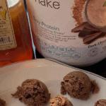 Chocolate Coconut Fudge Balls